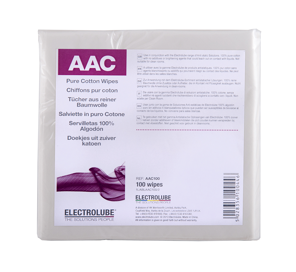 Anti-Static Wipes - AAC