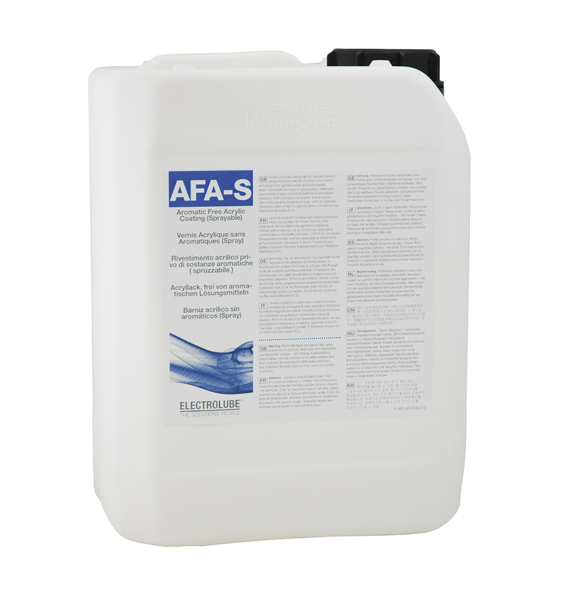 AFAS - Aromatic-Free Acrylic Coating (Spray Grade)