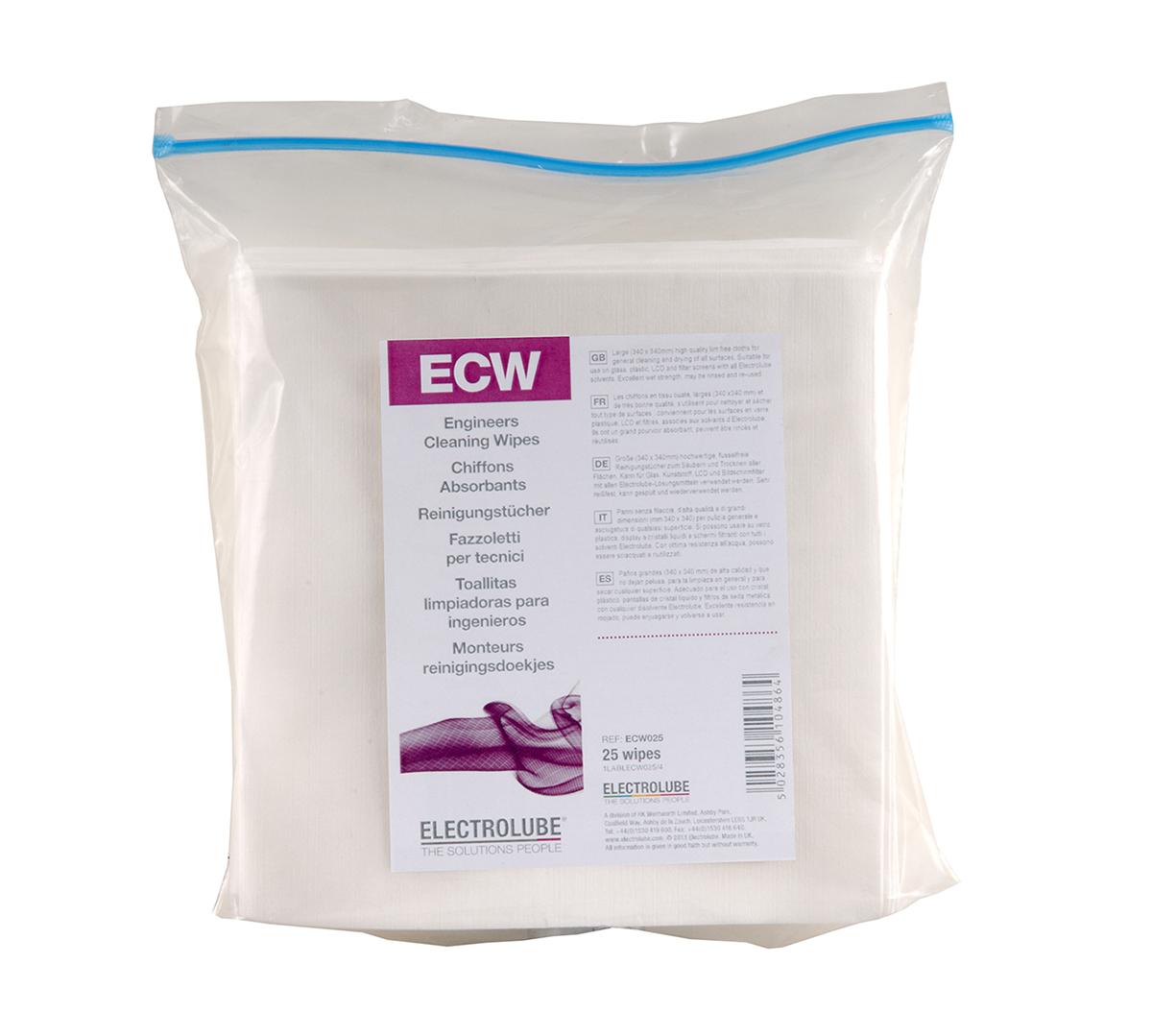 Engineers Cleaning Wipes ECW