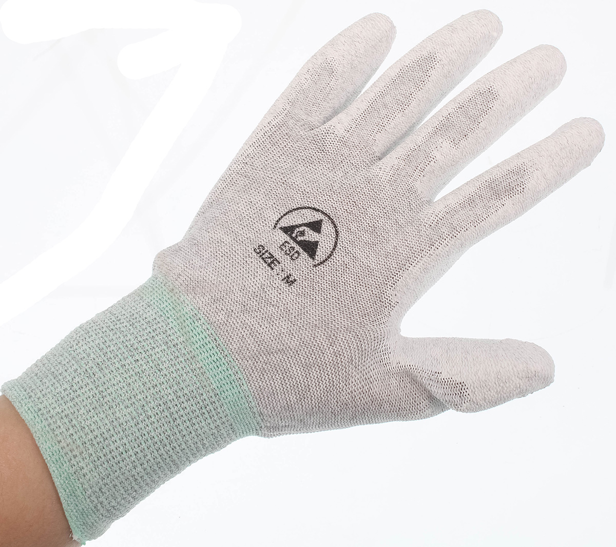 ESD Gloves - Coated Palms (M)