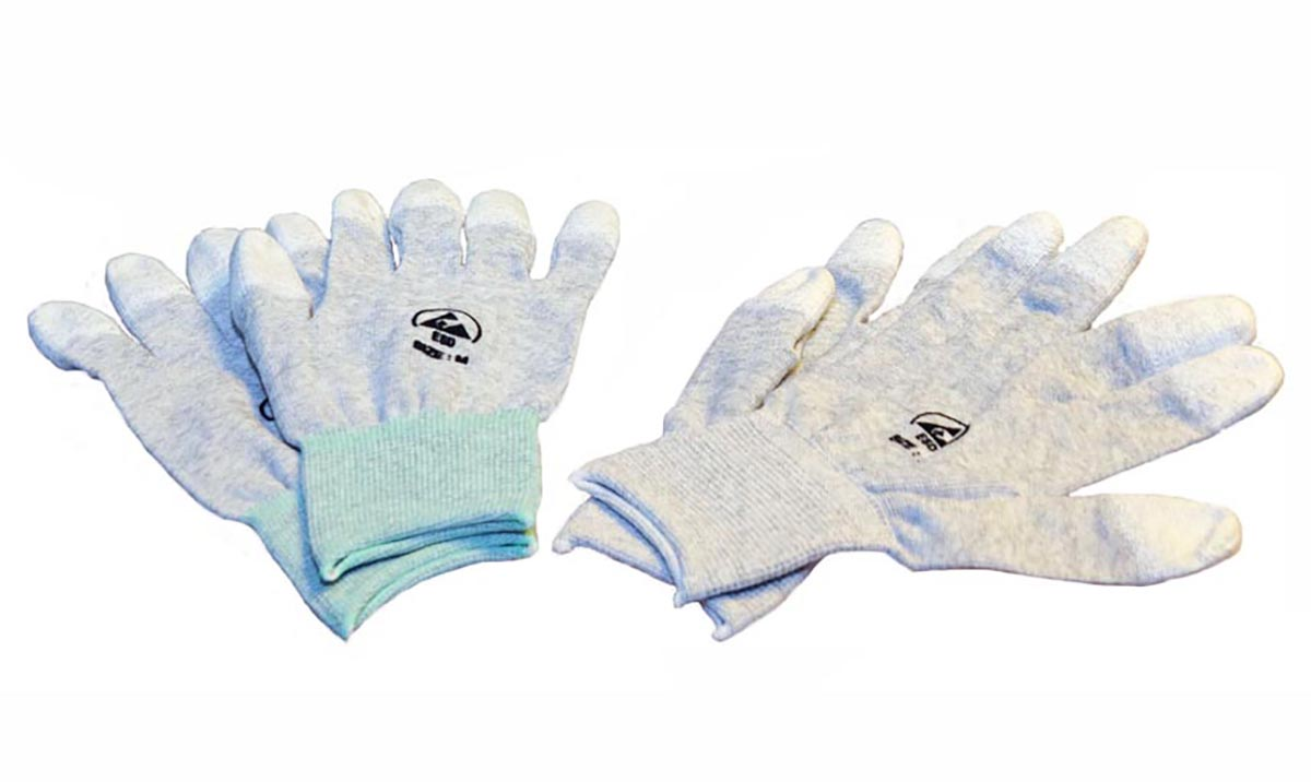 ESD Gloves - Coated Tips (S)