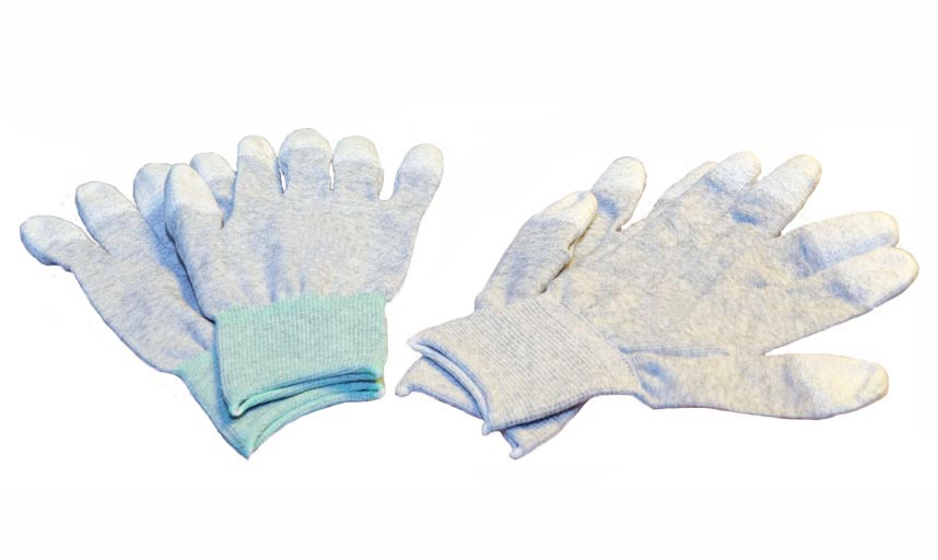 Non ESD Gloves - Coated Tips (S)
